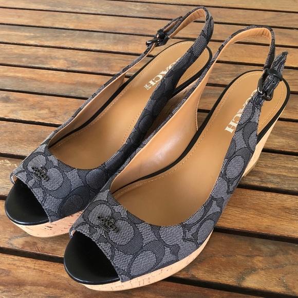 6874dd4302c Coach Shoes - Coach ferry wedges shoes size 9